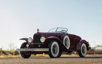 1925 Duesenberg Model A Speedster