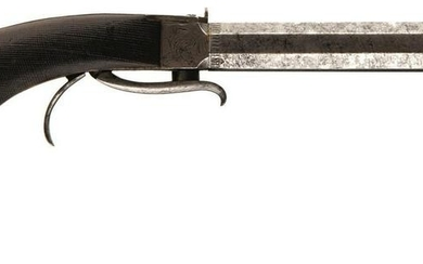 A 54-BORE PERCUSSION UNDER HAMMER BELT PISTOL FOR THE