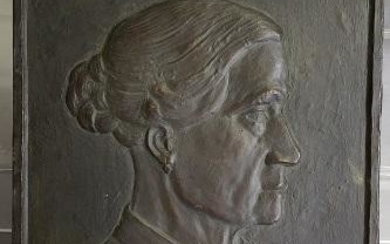 *ARNO HEMPEL ORIGINAL BRONZE RELIEF PLAQUE