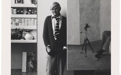 ARNOLD NEWMAN (1918-2006), David Hockney, London, 1978