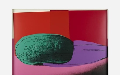 Andy Warhol, Watermelon from Space Fruit: Still Lifes
