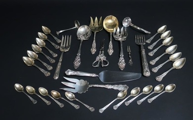 Assorted Group of Sterling Silver Flatware