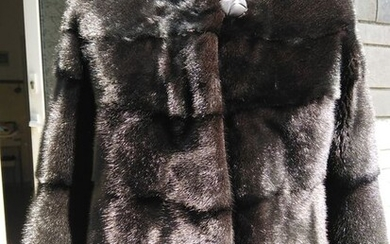 Black Saga - Mink fur - Fur coat - Made in: Greece