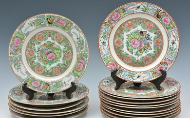 Chinese Rose Medallion Plates.