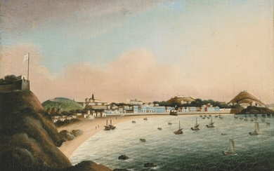Chinese School, circa 1830, The Praya Grande, Macao