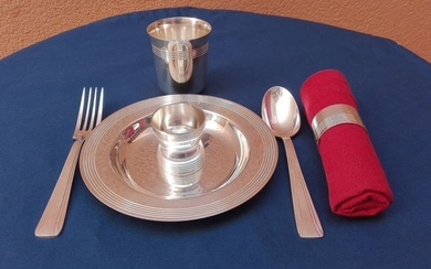 Christofle - Breakfast set (6) - Silverplate