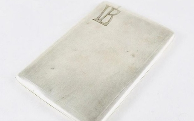 Cigarette case - .925 silver - Alfred Dunhill - England - Early 20th century