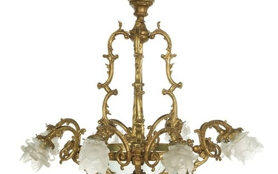 French Neoclassical-Style Chandelier