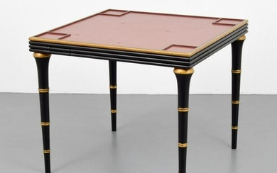 Game Table, Manner of Jacques Adnet