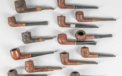 Group of Collectible Pipes