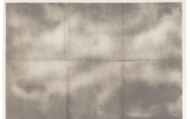 Joe Goode: Grey Folded Clouds I-IV (4)