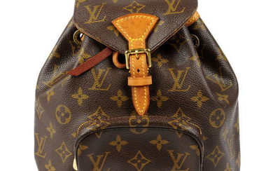 LOUIS VUITTON - a Monogram Montsouris PM backpack.