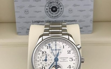 Longines -Master Collection Triple Date Moonphase Chronograph- Men - 2011-present