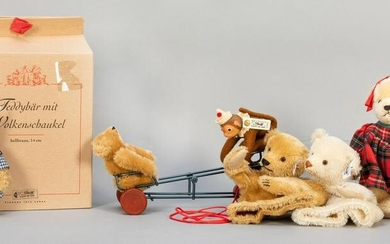 Lot of Four Classic Limited Edition Steiff Animals.