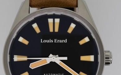 Louis Erard - Automatic Watch Sportive Collection Beige- 69108AA02.BVD18 - Men - Brand New