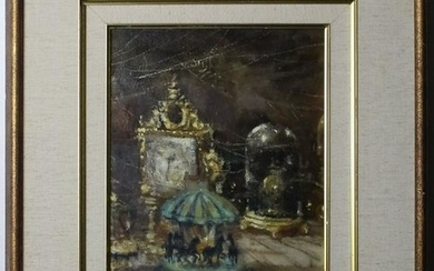 Martin Jackson 1919-1986 American Oil Painting