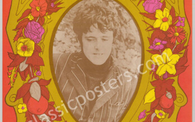 Mint Signed and Certified BG-86 Donovan Poster