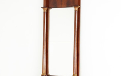 Mirror with console table