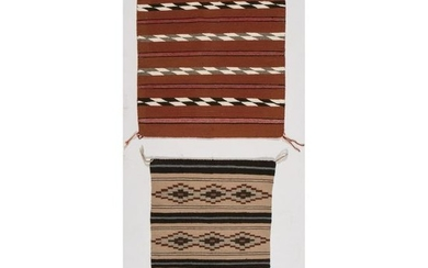 Navajo Eastern Reservation Sampler Weaving, PLUS