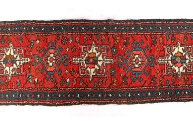 Oriental hand-knotted runner