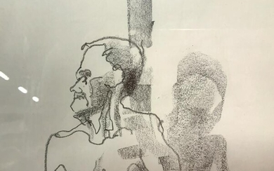 Pencil on Paper Figure Drawing