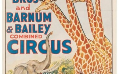 Ringling Brothers and Barnum & Bailey Combined Circus.