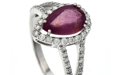 Ruby-Brillant-Ring WG 585