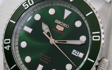 "Seiko - Automatic 23 Jewels ""Green Dial"" - - - Men - 2018"