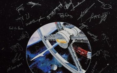 2nd Planetary Congress Multi-Signed Poster