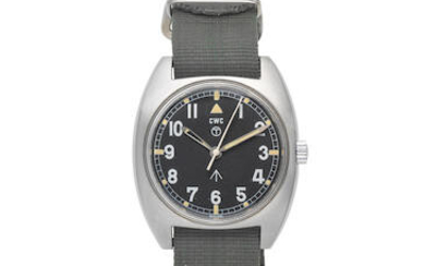 CWC. A stainless steel manual wind military wristwatch issued to the British Army