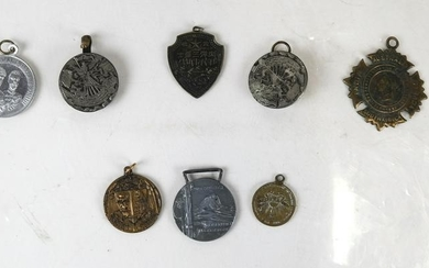 Assorted American & Foreign Medals & Pins