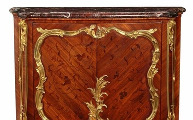 A Louis XV style side cabinet, L. Cueunieres