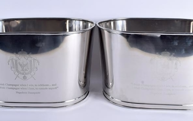 A PAIR OF LILY BOLLINGER CHAMPAGNE BATH, bearing a