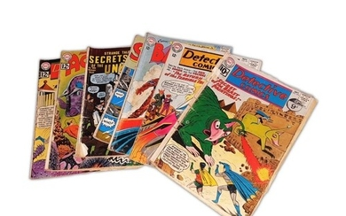 A collection of 1960s comics, to include DC Aquaman #2 US Ce...