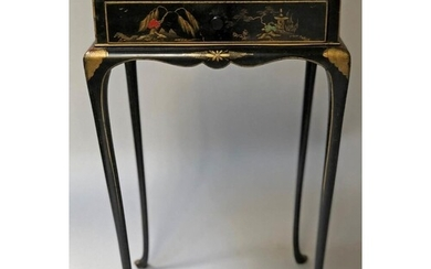 CHINOISERIE SIDE TABLE, Queen Anne style early 20th century ...