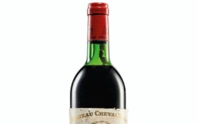 Château Cheval-Blanc 1975, Saint-Émilion, 1er grand cru classé (A) Corroded and slightly damaged capsules, badly bin-soiled and damaged labels, five detached and three missing labels Levels three base of neck, six top shoulder, three upper shoulder