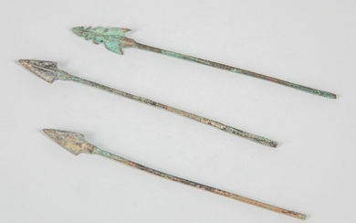 Group Ancient Warring State Arrows