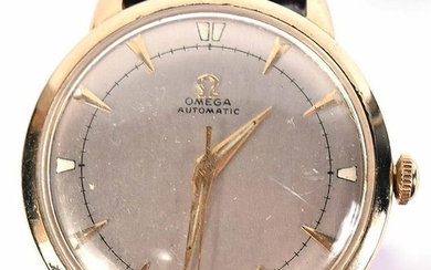 Omega Automatic Yellow Gold Wristwatch