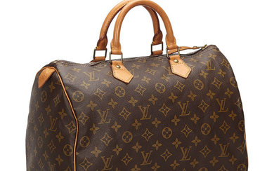 "VÄSKA, ""Speedy 35"", Louis Vuitton."
