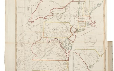 WELD, Isaac (1774-1856). Travels Through the States of