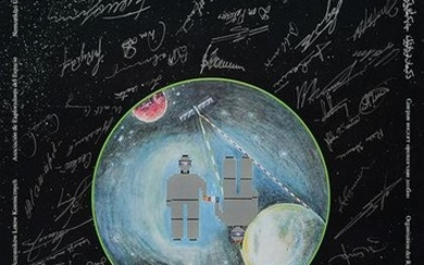 6th Planetary Congress Multi-Signed Poster
