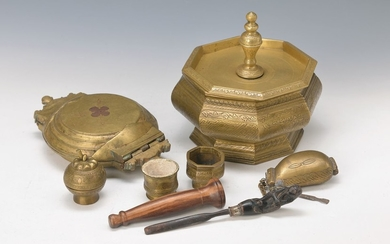 7 collector pieces, Bali, 19th c. and...