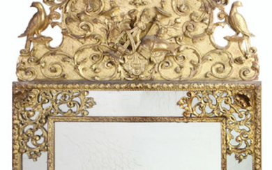 A French Regence looking glass first quarter 18th century