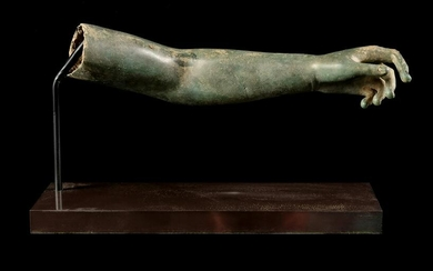 A Late Hellenistic or Roman Bronze Arm Length 12 1/2