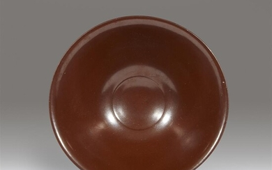 A small Chinese persimmon-glazed Yaozhou stoneware bowl Northern Song...