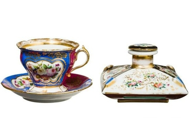 An inkwell or perfume bottle owned by Grand Duchess