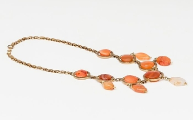 Ancient Greek Carnelian NECKLACE
