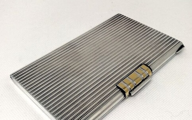 Art Deco Sterling Silver Box - .925 silver - Tiffany & Co - Italy - First half 20th century