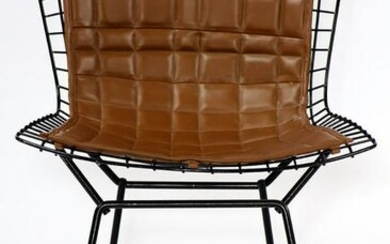 Chair, in the Bauhaus style, 1965/70, metal frame with