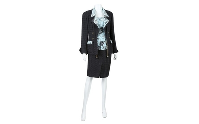 Chanel Boutique Three Piece Skirt Suit - sizes 38 and 40